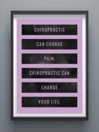back pain poster chiropractic