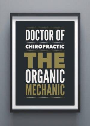 Organic mechanic chiropractor